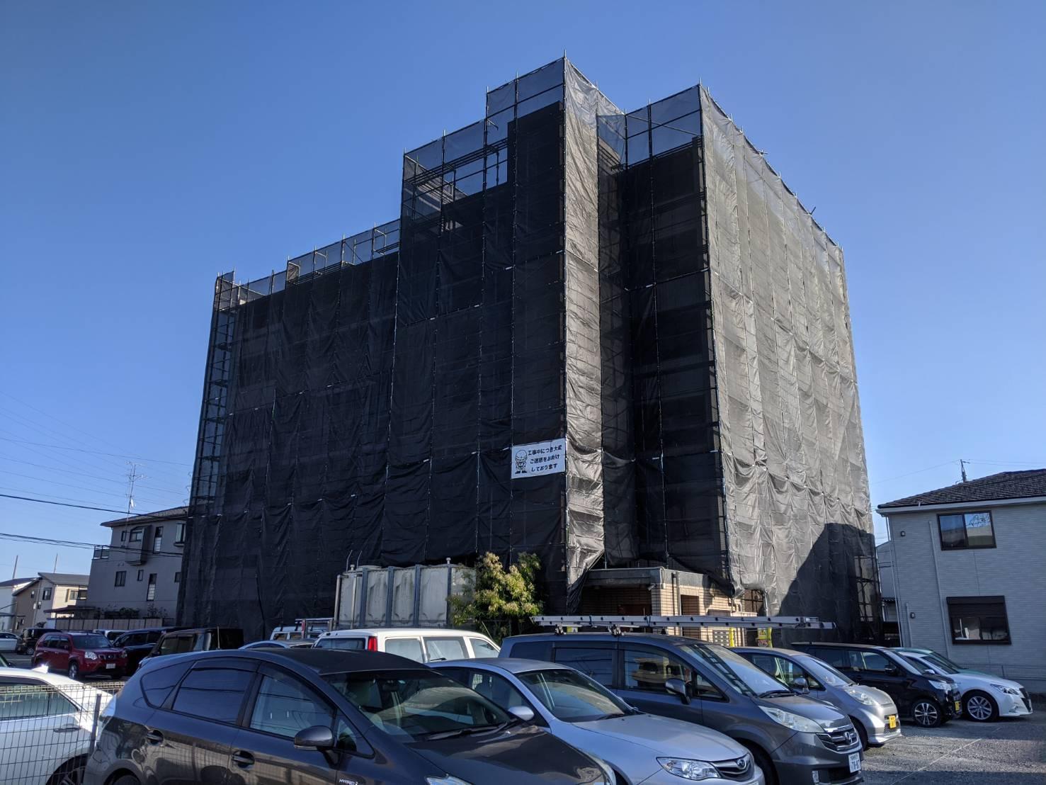 北名古屋市にてマンション修繕工事始めました❕